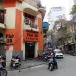 旧市街で食べるおいしいフォー / Pho10