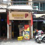 旧市街にあるベトナムサンドイッチ(バインミー)のお店 / BANH MY P