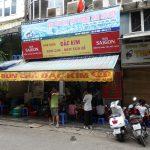 旧市街にある有名Bun Cha(ブンチャー)のお店 / Dac Kim